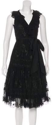 Diane von Furstenberg Dendermonde Embroidered Dress