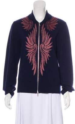 Dries Van Noten Zip-Up Cashmere Cardigan