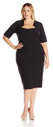 Single Dress Women's Plus-Size Carmina Dress $245.25 thestylecure.com