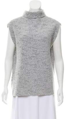 Thakoon Crossover Back Turtleneck Sweater