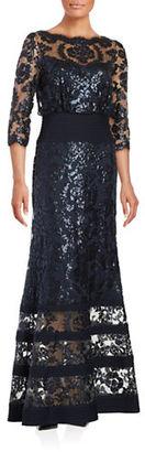 Tadashi Shoji Sequin Gown $539 thestylecure.com