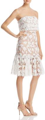 Jarlo Annora Strapless Lace Dress