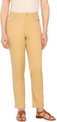 Isaac Mizrahi Live! Petite 24/7 Stretch 5 Pkt Ankle Pants