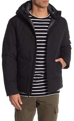 Hawke & Co Hooded Heat Sealed Water Resistant Down Puffer Jacket