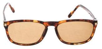 Cartier 9K Gold Tortoiseshell Sunglasses