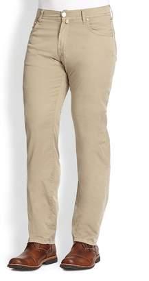 Corneliani Men's Five-Pocket Cotton Pants