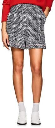 Thom Browne Women's Cotton-Blend Tweed Shorts