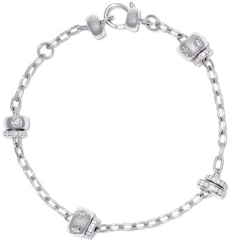 Pomellato 18kt white gold Iconica diamond bracelet