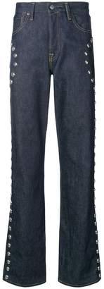 Acne Studios 1996 Studs straight jeans