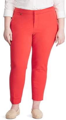 Lauren Ralph Lauren Plus Ankle-Length Skinny Pants