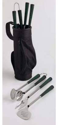 Design Imports Golf Bag and Clubs BBQ Tool Set