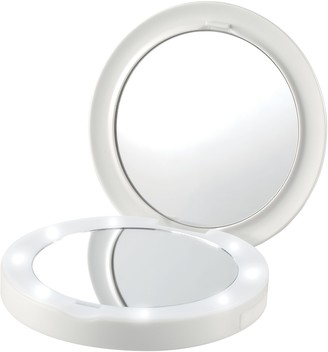 Homedics Compact Charging LED Mirror