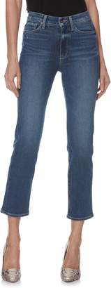 Paige Transcend Vintage - Margot High Waist Ankle Straight Leg Jeans
