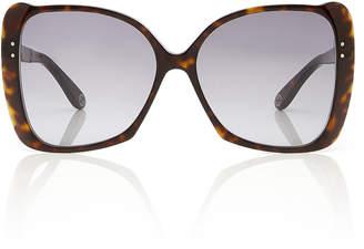 Gucci Butterfly-Frame Tortoiseshell Acetate Sunglasses