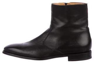 Magnanni Leather Ankle Boots