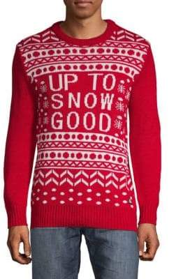 Up To Snow Good Sweater