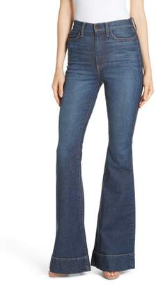 Alice + Olivia Beautiful High Waist Bell Bottom Jeans