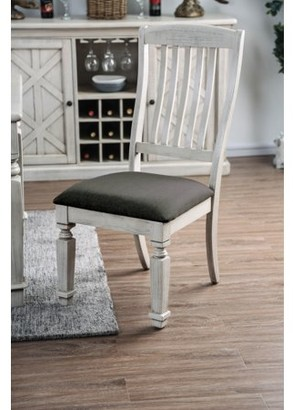 Furniture of America Roslyn Farmhouse Dining Chairs (set of 2)