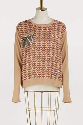 La Prestic Ouiston Kiss and love printed sweater