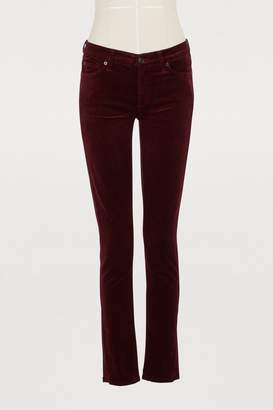 7 For All Mankind The Skinny velvet pants