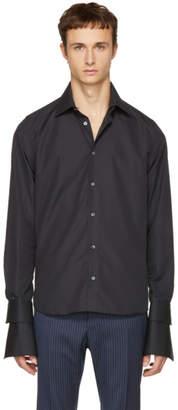 Faith Connexion Black Double Sleeve Shirt