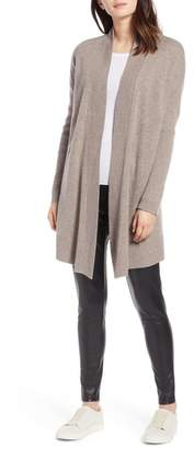 Halogen Open Front Drape Cardigan (Regular & Petite)
