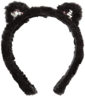 Karl Lagerfeld Faux Fur Headband