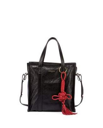 Balenciaga Bazar Chinese New Year Small Tote Bag, Black/Red $1,495 thestylecure.com
