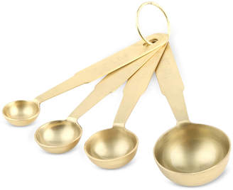 Thirstystone Brushed Gold-Finish Measuring Spoons, Set of 4