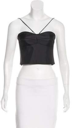 Nicholas Silk Crop Top