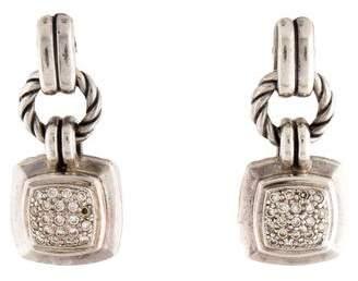 David Yurman Diamond Renaissance Drop Earrings
