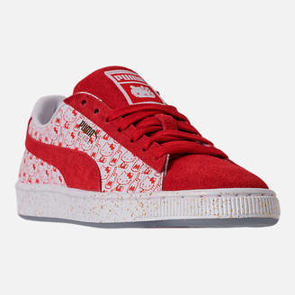 Puma Women's x HELLO KITTY Suede Classic Casual Shoes