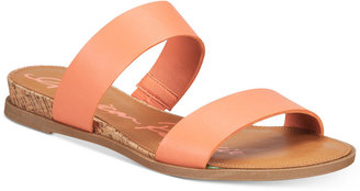 American Rag Easten Slide Sandals, Only at Macy's Women's Shoes $39.50 thestylecure.com