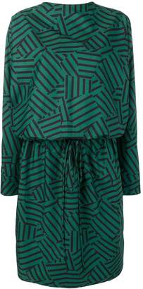Plan C geometric printed dress