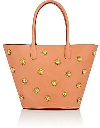 Mansur Gavriel Women's Triangle Leather Tote Bag - Tan