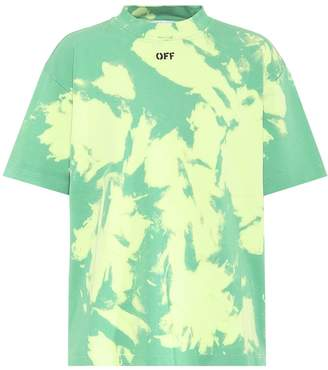 Off-White Off White Tie-dye cotton T-shirt