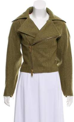 DSQUARED2 Wool Notch-Lapel Jacket