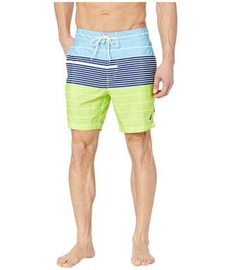 Nautica Variegated Stripe Swim Trunks