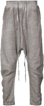 Army Of Me loose drop crotch trousers