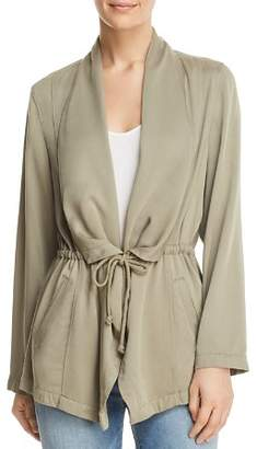 Bagatelle Draped Drawstring Jacket