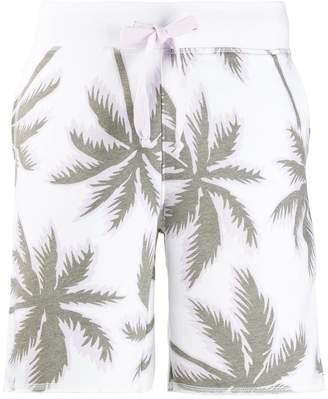 Juvia printed track shorts