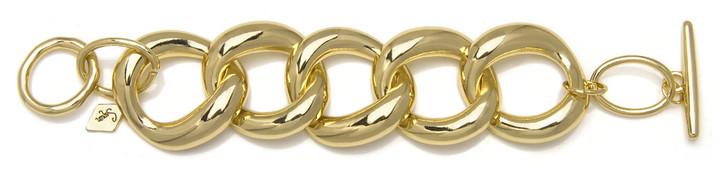 Sequin Gold Link Bracelet