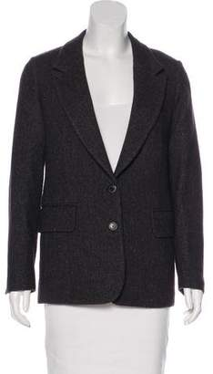 Golden Goose Wool Peak-Lapel Blazer