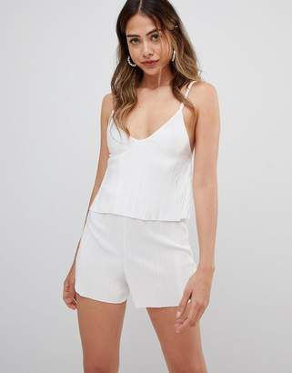 Missguided strappy playsuit