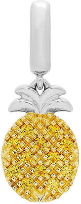 Proenza Schouler FINE JEWELRY Personal Style Yellow Citrine 14K Sterling Silver Gold Over Silver Charm