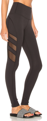 Beyond Yoga Triple Mesh High Waist Legging $107 thestylecure.com