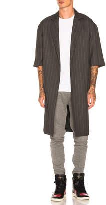 Fear Of God Wool Striped Overcoat