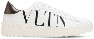 Valentino 20mm Open Vltn Leather Sneakers