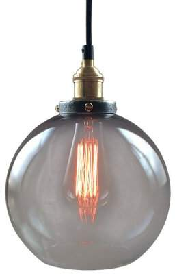 Westmen Lights 1-Light Single Globe Pendant Westmen Lights
