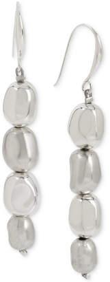 Robert Lee Morris Soho Silver-Tone Bead Linear Drop Earrings